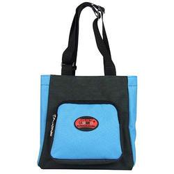 【UNME】素面寬底板餐袋藍色款