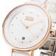 NATURALLY JOJO 經典風尚陶瓷腕錶-白34mm product thumbnail 3