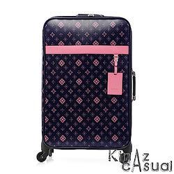 [加購]KINAZ 24吋MIT滿版Logo行李箱