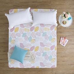 (加購)彩葉-200織精梳棉床包(單人)