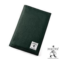 [加價購]PORTER - 帆布護照套-綠色