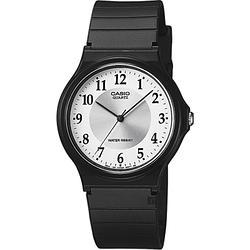 CASIO卡西歐 指針錶-銀x黑