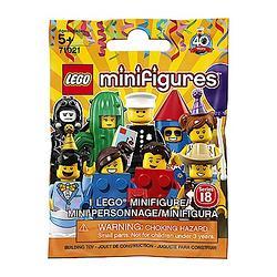 [加購]LEGO 人偶包 第18代派對(隨機一入)