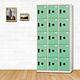 時尚屋 湯瑪斯多用途塑鋼製15格置物櫃 寬90x深35x高180cm product thumbnail 2