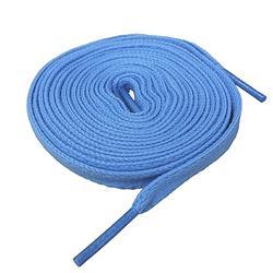 低筒鞋專用-水藍色鞋帶(扁帶)-SLA45A401