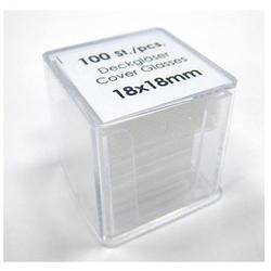100片德製蓋玻片
