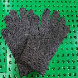 可觸控手套-灰色系配深藍色觸控-S/M