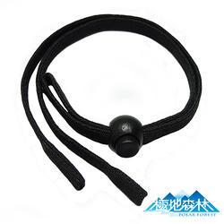 極地森林-黑色彈性運動安全眼鏡繩(眼鏡帶)