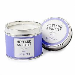 H&W英倫薇朵 陽光薰衣草香氛燭罐180g