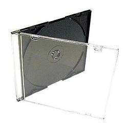 單片超薄硬殼收納盒25片-黑