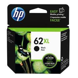 HP NO.62XL 原廠黑色高容量墨水匣