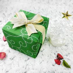 送禮精緻包裝-綠色