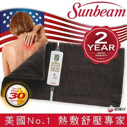 Sunbeam瞬熱保暖墊(核桃色)