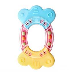 【BabyHouse】玉米環保搖鈴玩具-糖果造型
