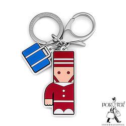 PORTER - 人型吊飾鑰匙圈-紅