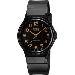 CASIO卡西歐 指針錶-金時標