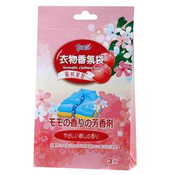 TAIREI 蜜桃果香衣物香氛袋-3入