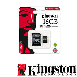 金士頓 16GB Micro SDHC 記憶卡