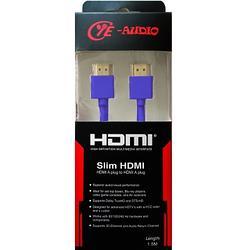 CYE-AUDIO 高畫質HDMI線1.5M-深藍