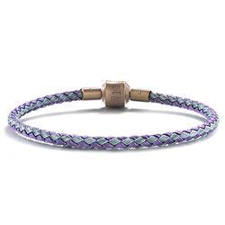 不鏽鋼手環_藍X紫