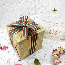 聖誕禮盒包裝-金色