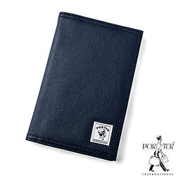 [加價購]PORTER - 帆布護照套-深藍色