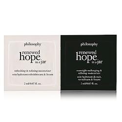 (贈品) philosophy肌膚哲理 希望保濕日夜兩件禮