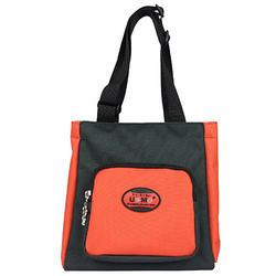 【UNME】素面寬底板餐袋/紅黑色款