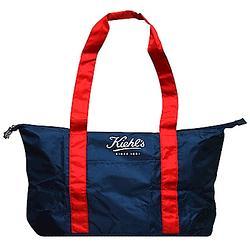 契爾氏 摺疊收納旅行袋 限量版藍紅 原價980