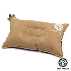 加購-TreeWalker 舒適麂皮自動充氣枕頭