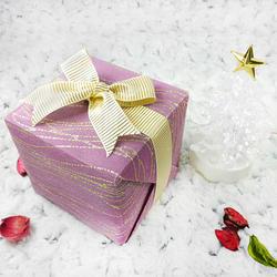 送禮精緻包裝-紫藕色