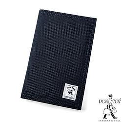 [加價購]PORTER - 尼龍護照套-深藍色