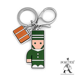 PORTER - 人型吊飾鑰匙圈-綠