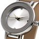 MANGO 俏麗佳人小錶面晶鑽雙圈錶帶腕錶-杏/24mm product thumbnail 2