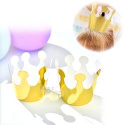 DIY派對帽金色迷你皇冠帽 大人小孩通用 皇冠生日帽-超值10入 kiret