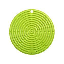 耐熱矽膠圓型隔熱墊-奇異果綠