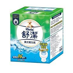 舒潔 濕式衛生紙40抽補充包16包/箱