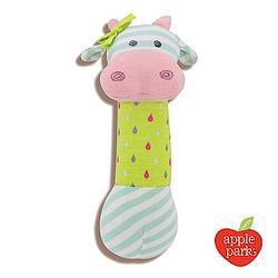 (贈品)Apple Park -有機棉安撫啾啾棒-乳牛貝兒