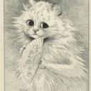 Michele the Louis Wain cat