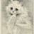 Michele the Louis Wain cat