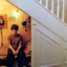 Harry Potter under the stairs