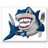Tiburón NO caza Moscas
