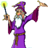 Wizened wizard