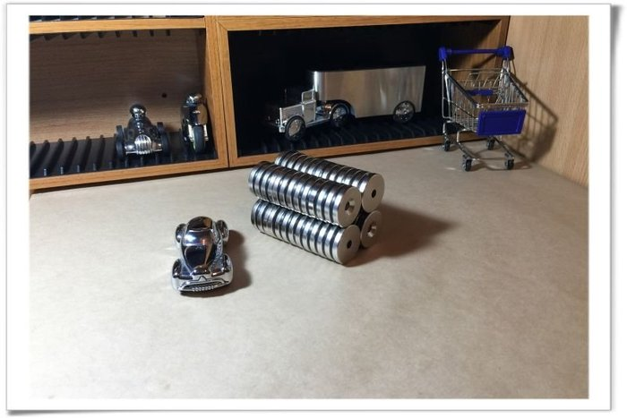 沉孔30mmx5mm(單孔6mm)--愈大顆磁力愈強吸附力絕對滿意!