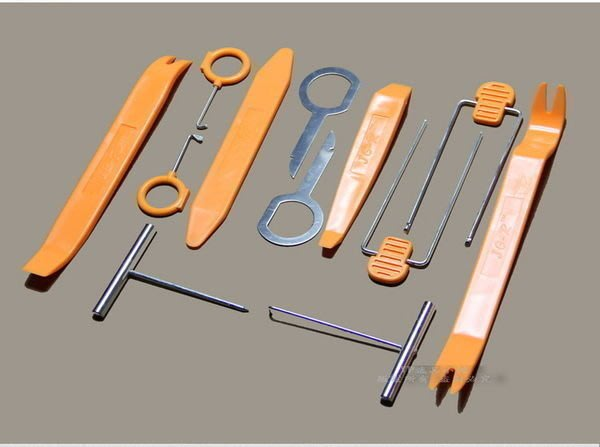 YP逸品小舖 汽車用 音響拆卸工具 12件組 內裝拆卸工具 儀表板 內飾板 門板 專用工具