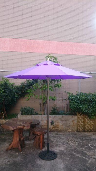 兄弟牌七尺(210cm)單柱不鏽鋼管柄防鏽太陽傘--海邊山上抗風防鏽專用款(可多種色指定訂製傘布色)。