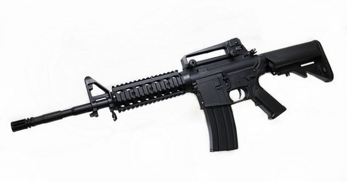 IGUN M4 RIS 電動槍 黑 運動G版