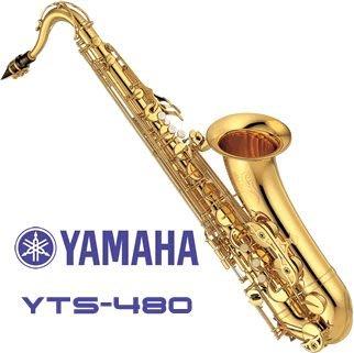【六絃樂器】全新 Yamaha YTS-480 TENOR SAX 次中音薩克斯風 / 現貨特價