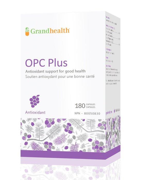 100%正品加拿大原裝正品 OPC  原花青素opc含量 95% 葡萄籽精華 180粒裝
