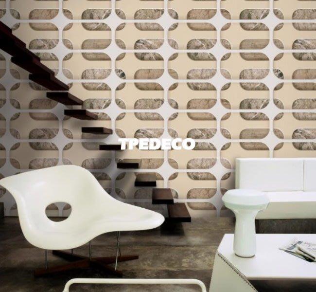 【大台北裝潢】MD韓國進口壁紙/壁布* 幾何岩石(2色)  每坪750元